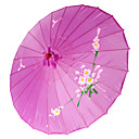 lilla silke parasoll