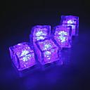 johti uskomattomia vilkkuu timantti jääpala - tusina (violetti)