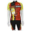 kooplus-herre cykel korte dragter med overalls shorts (giraf)