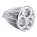 Spot Blanc Chaud MR16 GU5.3 6 W 3 LED Haute Puissance 540 LM K DC 12 V