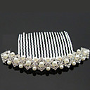 Women's Alloy/Imitation Pearl Headpiece - Wedding/Special Occasion/Outdoor Hair Combs