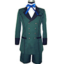 Costume de Cosplay Black Butler Ciel Phantomhive Green