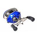 Moulinet pour pêche Moulinet bait casting 6.3:1 11 Roulements à billes Pêche en mer / Pêche d'appât / Pêche d'eau douce