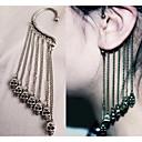 kvinnors vintage skalle örhängen