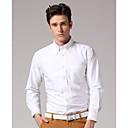 Men's Long Sleeve Shirt Work Pure