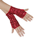 Cotton with Shining Sequins Dance Gloves For Ladies More Colors(A Pair)