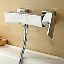 Sprinkle® Shower Faucets Centerset / Wall Mount with Chrome Single Handle Two Holes