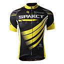 SPAKCT 100%Polyester Short Sleeve Breathable/Quick-Drying Men Cycling Jersey S13C01