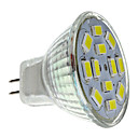 6W GU4(MR11) Lâmpadas de Foco de LED MR11 12 SMD 5730 570 lm Branco Natural DC 12 V