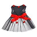 Dog Dress Black Spring/Fall Floral / Botanical Wedding