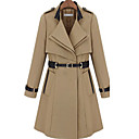 Dames Belted Trench Coat