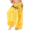 Dancewear Chiffon with Sequins and Coins Belly Dance Bottom For Children More Colors