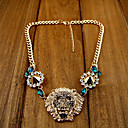 Damesmode Luxueuze Lion Head Hanger Collier Rivet