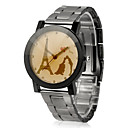 Alloy Round Quartz Movement Women's Watch