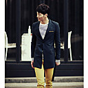 Men 's Korean Fashion Tailored Collar Coat