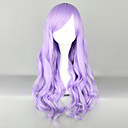Fairy Princess Light Purple 70 centímetros peruca Lolita