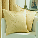 Set of 2 Elegant Floral Decorative Pillow Cover ZS017