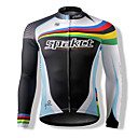 Unisex Cycling Tops Long Sleeve Bike Spring / Summer / AutumnBreathable / Quick Dry / Front Zipper / Dust Proof / Anti-Insect / Wearable