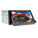 7-inch 2 Din TFT Screen In-Dash Car DVD Player With Bluetooth,iPod-Input,Navigation-Ready GPS,RDS,TV