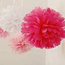 웨딩 장식 10 인치 종이 꽃 - 4 (더 많은 색상) 세트