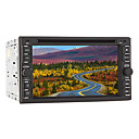 6.2-inch 2 Din TFT Screen In-Dash Car DVD Player with GPS, RDS, BT, Game