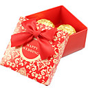 Asina Style Candy Box With Red Bow-Set of 50