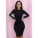 Sexy Backless Spicing Bodycon mini vestido das mulheres