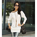 Women's Zipper Shoulder Bateau T-shirt