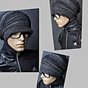 drapeado chapéu knited dos homens