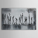 Oil Painting People Playtime with Stretched Frame 1311-PE1147 Hand-Painted Canvas