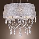 Moderne Dazzling 5 lumières lustre avec le cristal