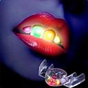 Nieuwigheid 2e generatie multi-color LED knipperen False Teeth partij Toys