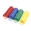 160pcs Plastic Multi-Color Cartridge Digital Chips