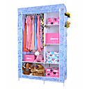 Cartoon Folded Multifunctional Purple FloralWide Storage Closet