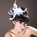 Women's Feather / Rhinestone Headpiece-Wedding / Special Occasion Flowers As the Picture