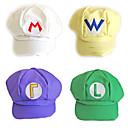 5 Color Super Mario Hat Unisex Halloween Cap