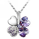 Women's Alloy Necklace Anniversary/Birthday/Gift/Party/Daily/Special Occasion Crystal