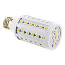 E26/E27 10W 60 SMD 5050 1000 LM Cool White T LED Corn Lights AC 85-265 V