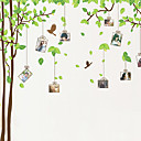 Photo Wall Stickers, Botanical Tree Birds Sweet Memory