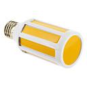 E26/E27 9 W COB 900 LM Warm White Corn Bulbs AC 220-240 V
