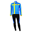 KOOPLUS Men's Cycling Suits Long Sleeve Bike Spring / Autumn / WinterBreathable / Moisture Permeability / Wearable / Thermal / Warm /