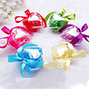 Crystal Heart Favor Box with Bow - Set of 6 (More Colors)