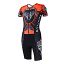 KOOPLUS - Triathlon Red+Black Wolf Short Sleeve Wear and Shorts Conjoined Cycling Clothing
