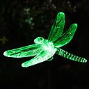 Solaire changeant de couleur de libellule pieu Jardin Lumière (CSS-57273)