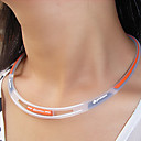 Health Caring (Athletic) Orange Silicone Power Necklace (1 Pc)