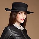 Damas de lana de moda Fiesta / sombrero al aire libre / Casual Con Short Brim