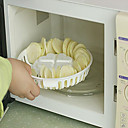 Microwave Oven Potato Chip Baking Plate