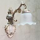 Wall Light, une lumière, verre classique en métal peinture