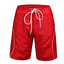 Uomo Poliestere Red Surf Beach Breve