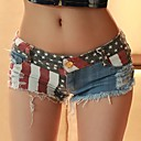 Sexy Casual Pantalones Cortos Pantalones vaqueros calientes de las mujeres